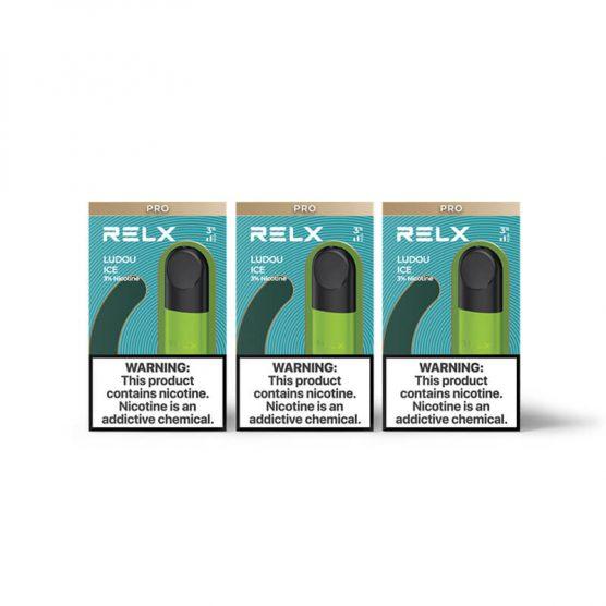 RELX四代煙彈—無限 綠豆冰